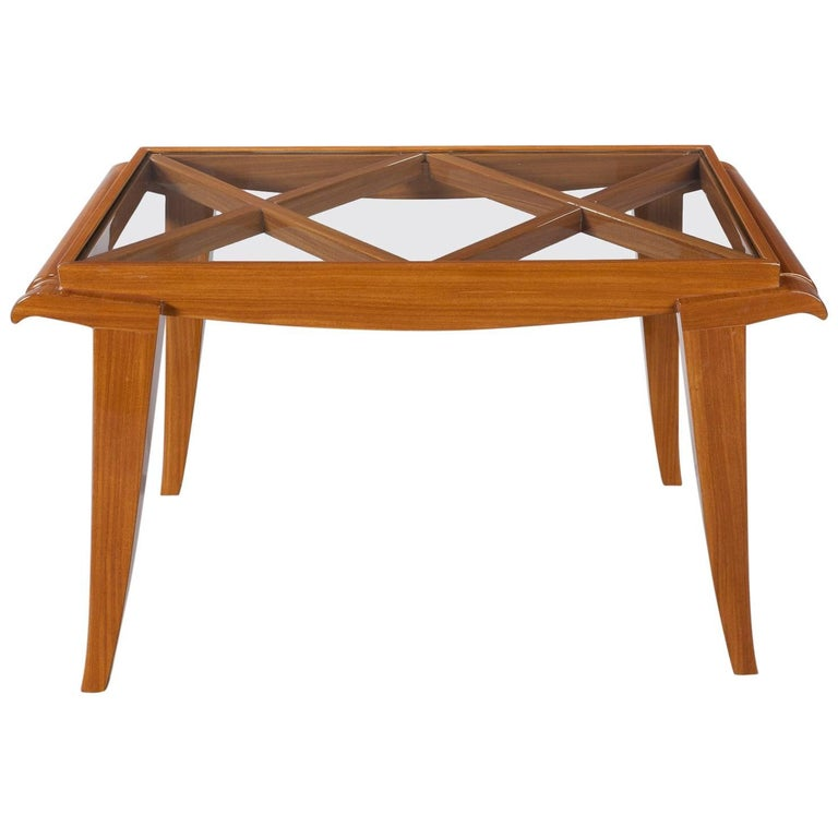 French Art Deco Coffee Table by Maxime Old For Sale