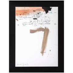 """Manuscrito II """"Painting"""" by Jaime Jurado"""