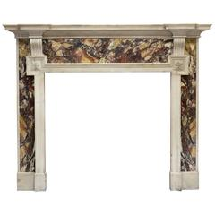 19th Century Victorian Marble Mantel