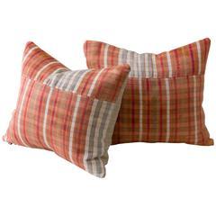Silk Hand Loomed Cushion