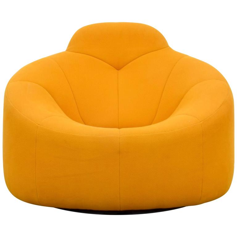 Pierre Paulin Pumpkin Lounge Chair 2 Available For Sale At 1stdibs