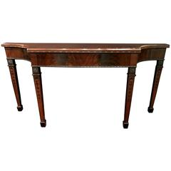 Old Colony Chippendale Style Mahogany Console or Sideboard / Server