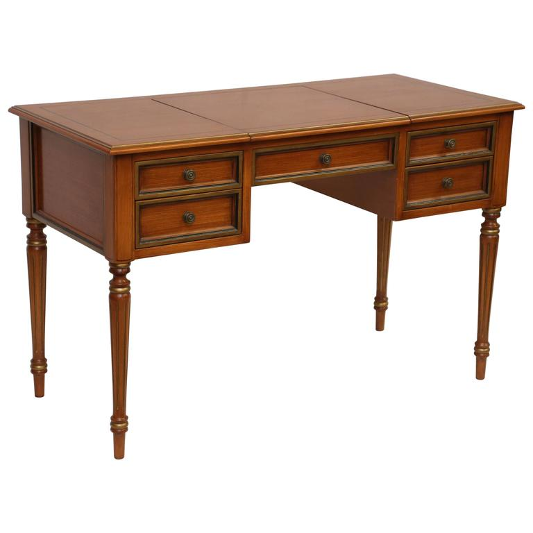 Julia Gray Maple Desk or Dressing Table