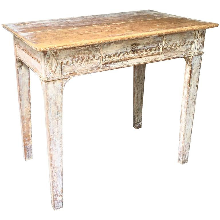 Late 18th century gustavian side table at 1stdibs for Oka gustavian side table