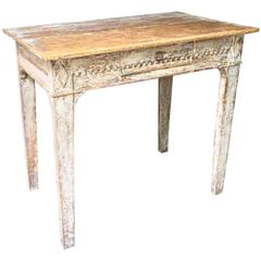 Late 18th Century Gustavian Side Table