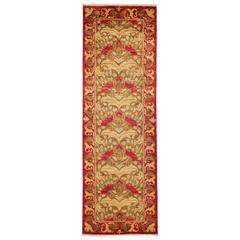 Red Arts & Crafts Runner