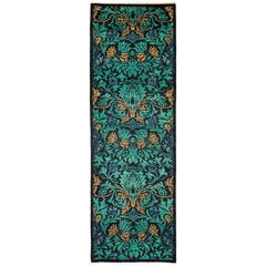 Green Arts & Crafts Runner, Solo Rugs