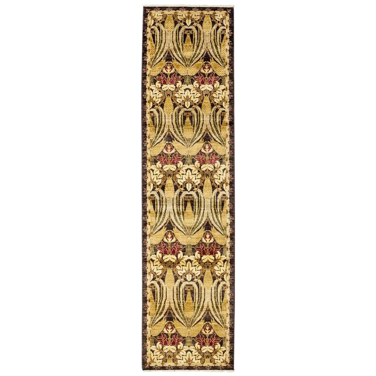 Yellow Arts And Crafts Runner Solo Rugs For Sale At 1stdibs