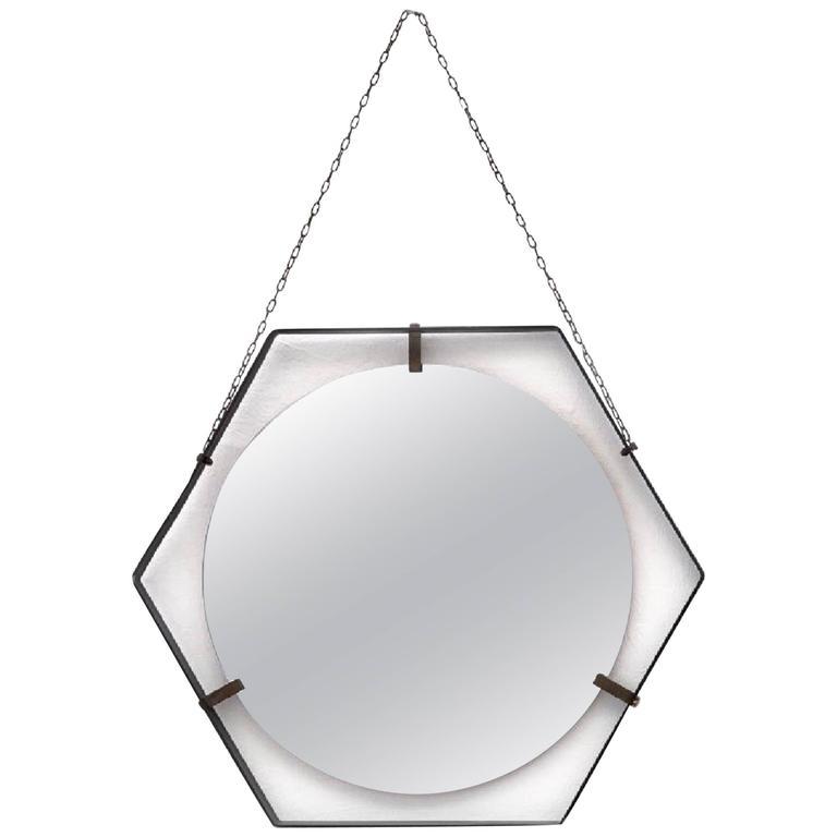 Italian Pentagon Floating Mirror