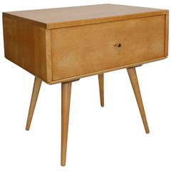 Paul McCobb Planner Group Single Drawer End Table or Nightstand