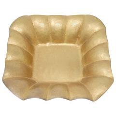 Rare Brass Low Bowl by Albert Reimann