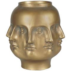 Dora Maar Perpetual Vase in Gold