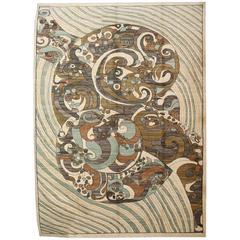 """Orley Shabahang Signature """"Typhoon"""" Persian Carpet"""