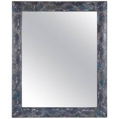 Petit Decoupage Mirror in a Moth Wing Pattern