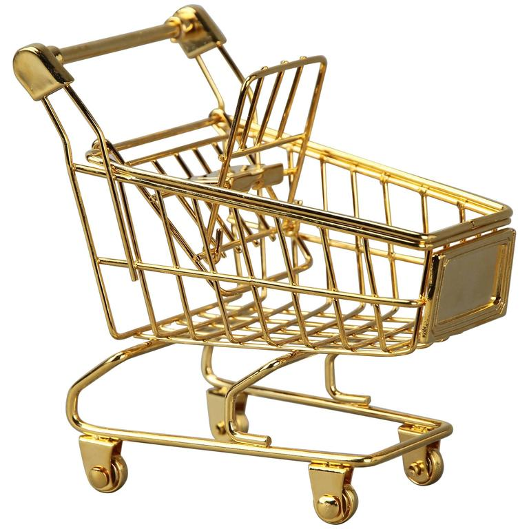 The 14K Gold Cart by Christopher Kreiling For Sale