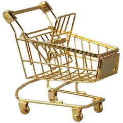 The 18K Gold Plated Cart by Christopher Kreiling
