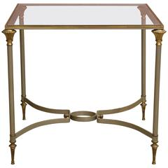 Italian Side Table in the Style of Jansen