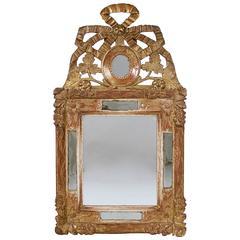 Louis XVI Carved Giltwood Mirror