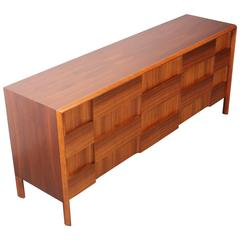 Mid Century Modern Credenza By Bassett For Sale At 1stdibs