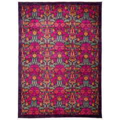 Pink Arts & Crafts Area Rug
