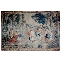 Aubusson Tapestry Pastoral, 18th Century