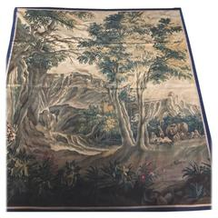 Aubusson Pastoral Tapestry 18th Century