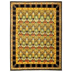 Yellow Arts & Crafts Area Rug, Solo Rugs