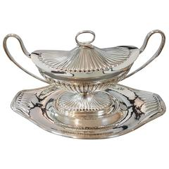 20th Century Silver Tureen with Wray