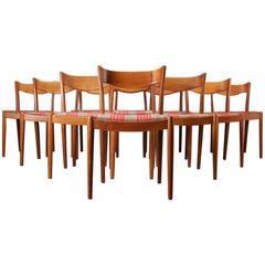 1950s Oak Dining Chairs by Ib Kofod-Larsen for Slagelse Møbelværk