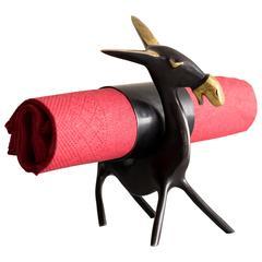 Donkey Napkin Holder by Richard Rohac, 1950s