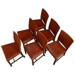 1970s Vintage Barcelona Chairs by Kaare Klint for Rud Rasmussen
