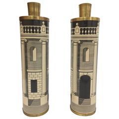 1970s Fornasetti Palladia Lamps