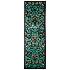 Green Arts and Crafts Runner
