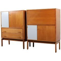 """Two """"Abstrakta"""" Cabinets by Jos De Mey"""
