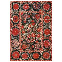 Antique Suzani Textile, circa 1850s