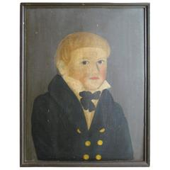 Portrait of a Young Boy Attributed to Amanda Powers