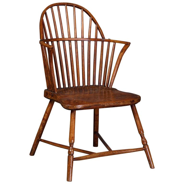 Gillows, a Late 18th Century Ash Windsor Chair Possibly for the American Market