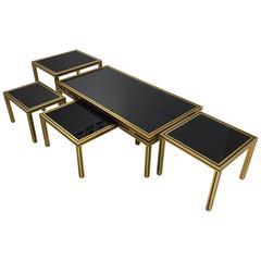 Set of Five Tables by Pierre Vandel
