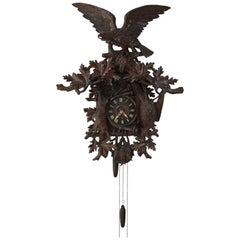 Massive 19th Century Black Forest Cuckoo Clock