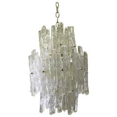 Lucite Icicle Chandelier by EMR Lighting