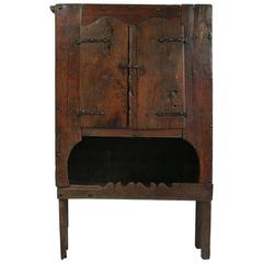 Spanish Late 17th Century Oak Cupboard
