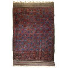 Antique Afghan Timuri Baluch Rug from Western Afghanistan, circa 1880