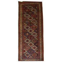 Antique Caucasian Shirvan Runner from the South Eastern Caucasus, circa 1890