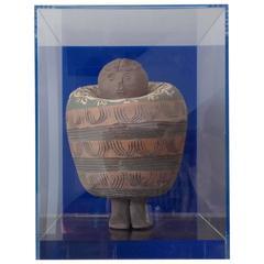 Matt Glazed Ceramic Attributed to Albert Thiry