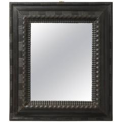 Late 19th Century Ebonized Mirror