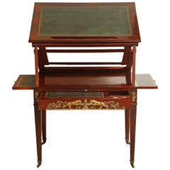 Early 19th Century French Empire Architects Desk