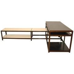 Mid-Century Modern Dunbar Interlocking Tables by Edward Wormley