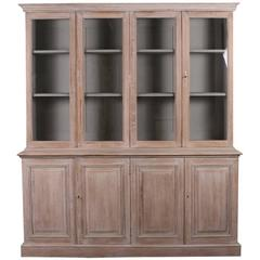 Bleached Oak Bookcase