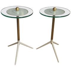 Pair of Mategot Style Side Tables