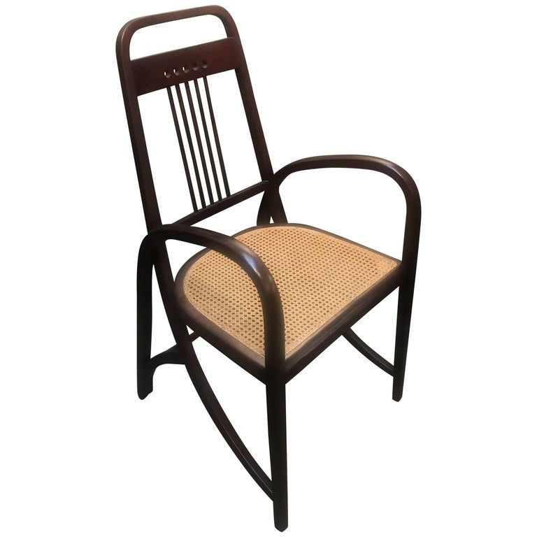 Thonet Model No. 511 Bentwood Armchair, Vienna Secession, circa 1904